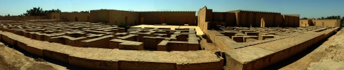 Babylonian ruins of babylon