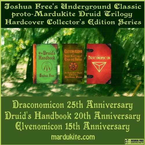 The Druid's Handbook, Elvenomicon and Draconomicon by Joshua Free